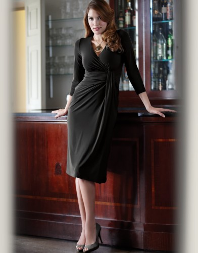 Drape Jersey Dress.  Available in sizes 08-18 (UK) Curvy/Really Curvy and Really Curvy/Super Curvy.  £55.00 (about $88.09 USD)