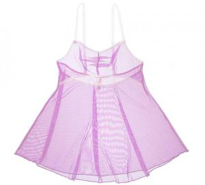 """Airplay"" Babydoll in Orchid by Between the Sheets Lingerie"
