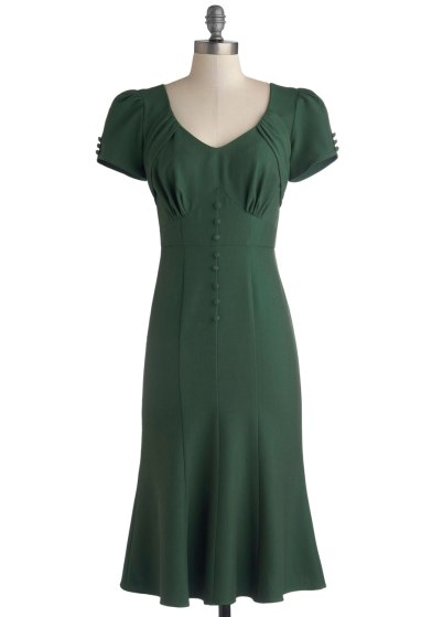 """Down to a Pine Art Dress"" ($167.99, certain sizes) by Stop Staring! at Modcloth.  Available in sizes XS-1X."
