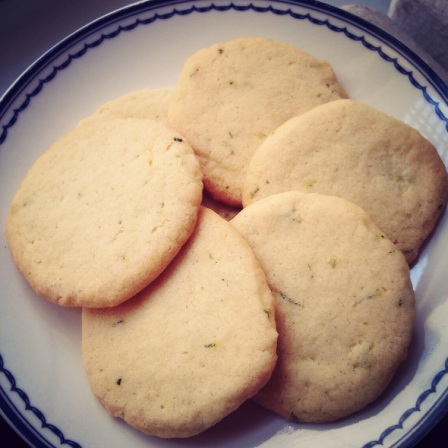 Rosemary Cookies sweet nothings