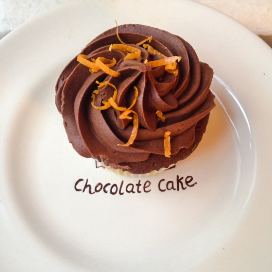Chocolate Cake with Chocolate-Orange Buttercream