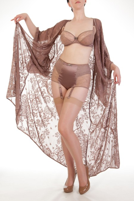 Harlow & Fox Sophia bra and high-waist brief