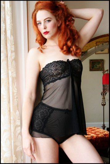 """Lotus Blossom"" Babydoll by Dollhouse Bettie"
