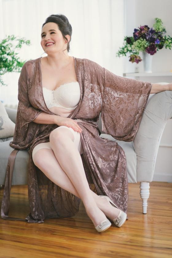 Bridal Boudoir- Sweet Nothings wears Masquerade, Harlow & Fox, Dollhouse Bettie