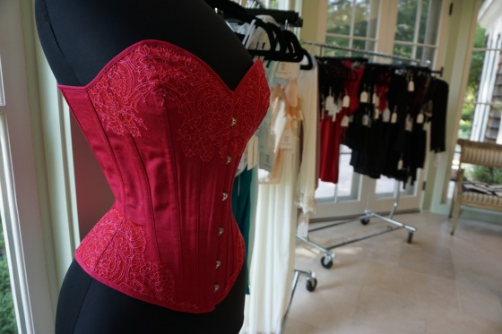 Corset and lingerie by Angela Friedman