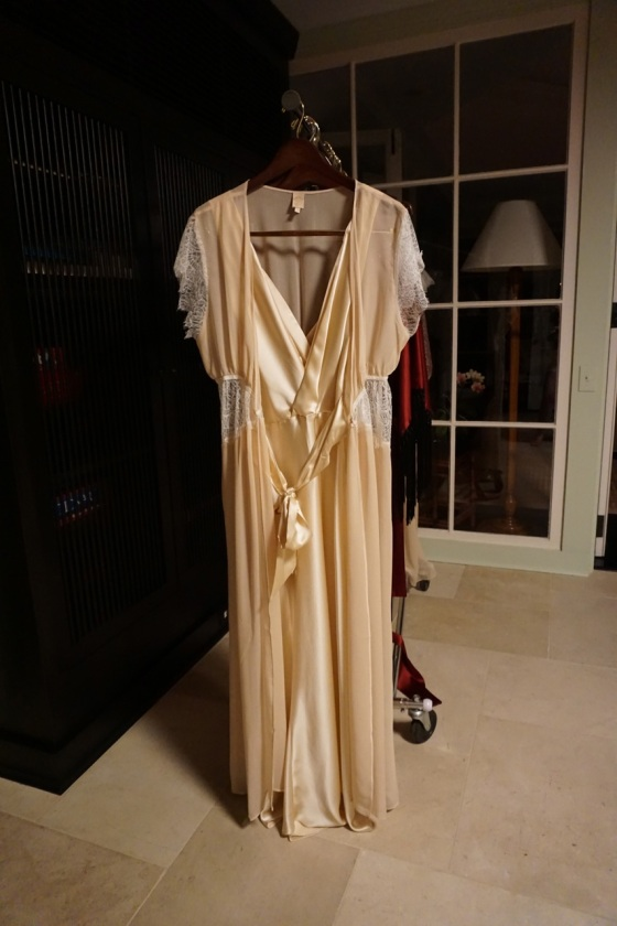 Harlow and Fox Eleanor gown and robe
